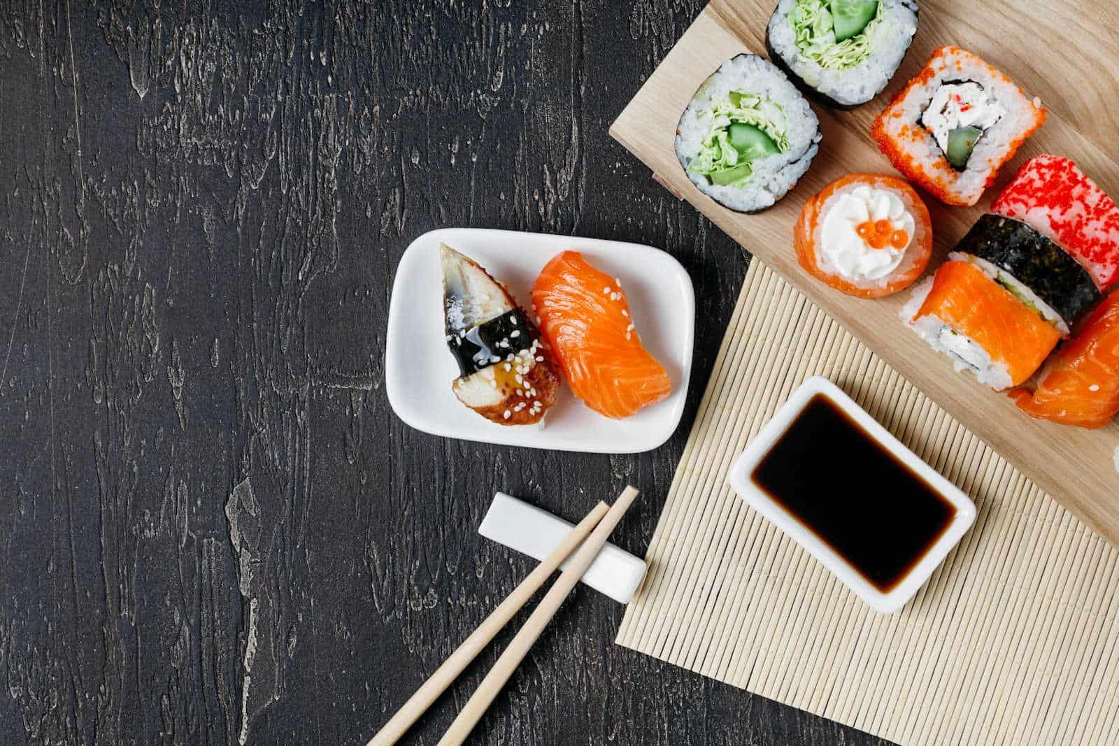 Mizutani sushi bar of San Francisco