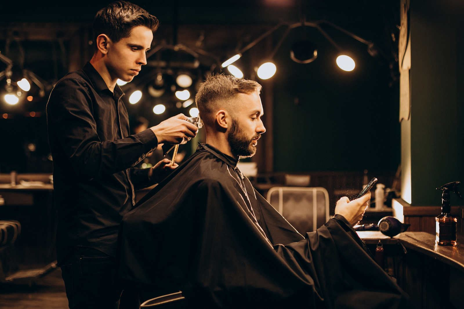 The Barber Shop by ZigZag of Hillarys