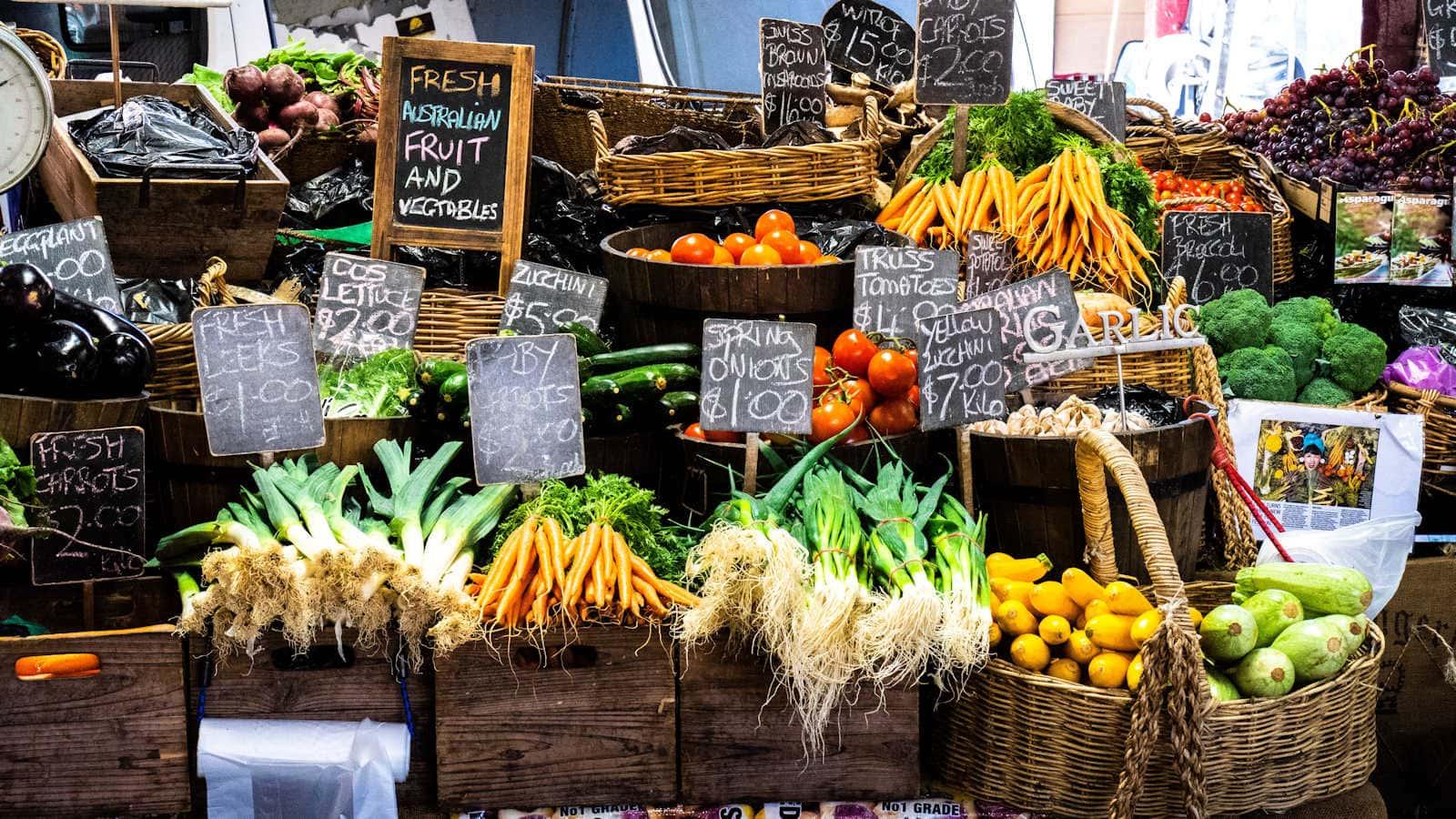 The People's Market Perth of Caversham