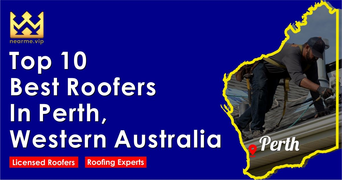 Top 10 Best Roofers in Perth